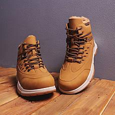 Мужские ботинки Баффало рефлект Pobedov (рыжие) 40 (26 см), фото 3