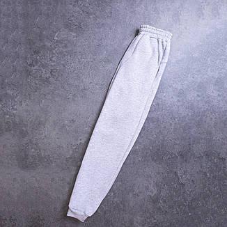 Мужской зимний спортивный костюм 99 Pobedov (черный с серым), фото 2