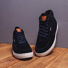 Мужские ботинки Винтаж Дак Pobedov (темно-синие), фото 2