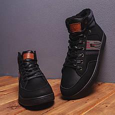 Мужские ботинки Винтаж ЮС АУФ Pobedov (черные), фото 3