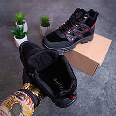 Мужские ботинки Гамми БО-БО Pobedov (коричневые с оранжевой вставкой), фото 3