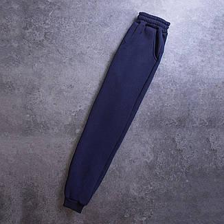 Мужской зимний спортивный костюм 98 Pobedov (черный с синим), фото 2
