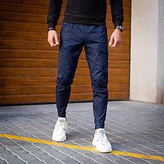 Мужские штаны Vibukh Pobedov (синие), фото 2