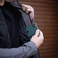 Мужская куртка Rafael Pobedov (серо-черная), фото 2