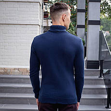 Мужской свитер Axelrod Pobedov (синий), фото 2
