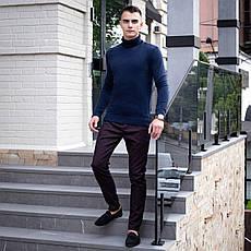 Мужской свитер Axelrod Pobedov (синий), фото 3
