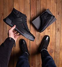 Мужские ботинки Харос Бланш Pobedov (черные), фото 2