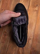 Мужские ботинки Харос Бланш Pobedov (черные), фото 3