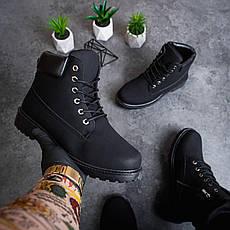 Мужские ботинки Лютер дифено Pobedov (черные), фото 3