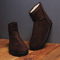 Мужские угги Апдейт Pobedov (коричневые) 40 (25.5 см), фото 3