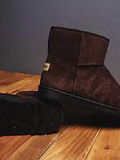 Мужские угги Апдейт Pobedov (коричневые) 40 (25.5 см), фото 2