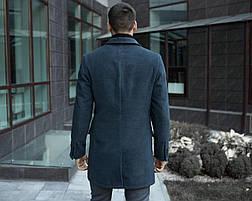 Пальто зимнее мужское BATYA Pobedov (антрацит), фото 3