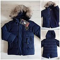 """Куртка на мальчика зимняя (80-104 см) """"Spider"""" LB-1048"""