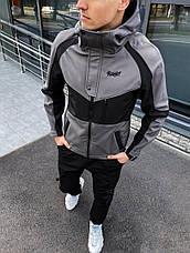 Мужская куртка Klon Pobedov (вставка хаки), фото 2