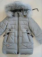 """Куртка на девочку зимняя (104-128 см) """"Spider"""" LB-1048"""