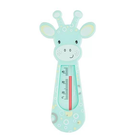 Термометр для ванной BabyOno Жирафик, мятный (776/01)