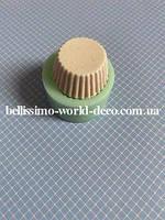Силиконовая форма (Молд) Кексик, d 2.4см, 1 шт.