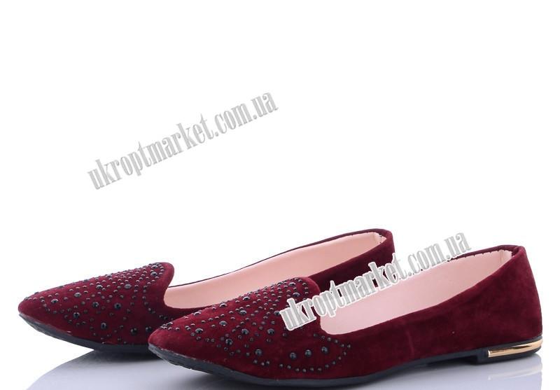 """Балетки женские 109-3 (8 пар р.36-40) """"Makers Shoes"""" LB-5096"""
