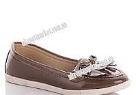 "Балетки женские Бант беж (8 пар р.36-40) ""Makers Shoes"" LB-5096"