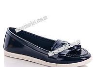 """Балетки женские Лапша син (8 пар р.36-40) """"Makers Shoes"""" LB-5096"""
