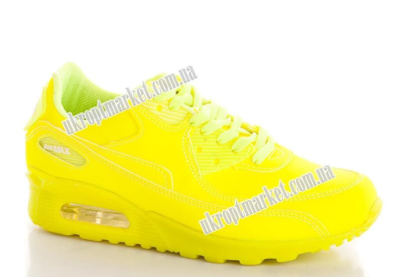 """Кроссовки женские 2025 желтый (8 пар р.36-40) """"Makers Shoes"""" LB-5096"""