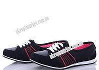 """Кроссовки женские 547 черн. (8 пар р.36-40) """"Makers Shoes"""" LB-5096"""