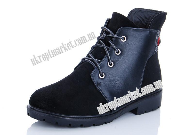 "Ботинки женские YXM863-2 (6 пар р.36-41) ""Maiguan"" LZ-1463"