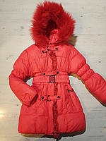 """Куртка на девочку зимняя (5-9 лет) """"Spider"""" LB-1048"""