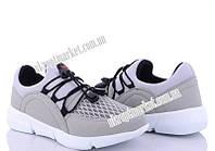 """Кроссовки детские 052 бежево-черный (8 пар р.31-35) """"Makers Shoes"""" LB-5096"""