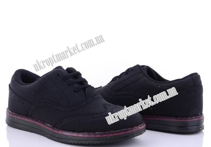 """Туфли детские 182 т.замша (8 пар р.31-35) """"Makers Shoes"""" LB-5096"""