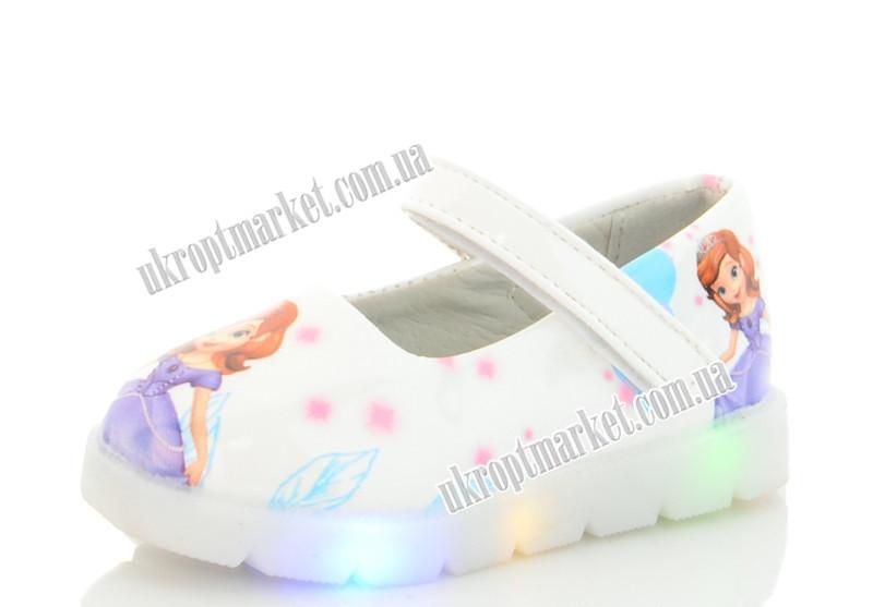 """Туфли детские 850-1 LED (8 пар р.21-26) """"Nexter"""" LMP-2130"""