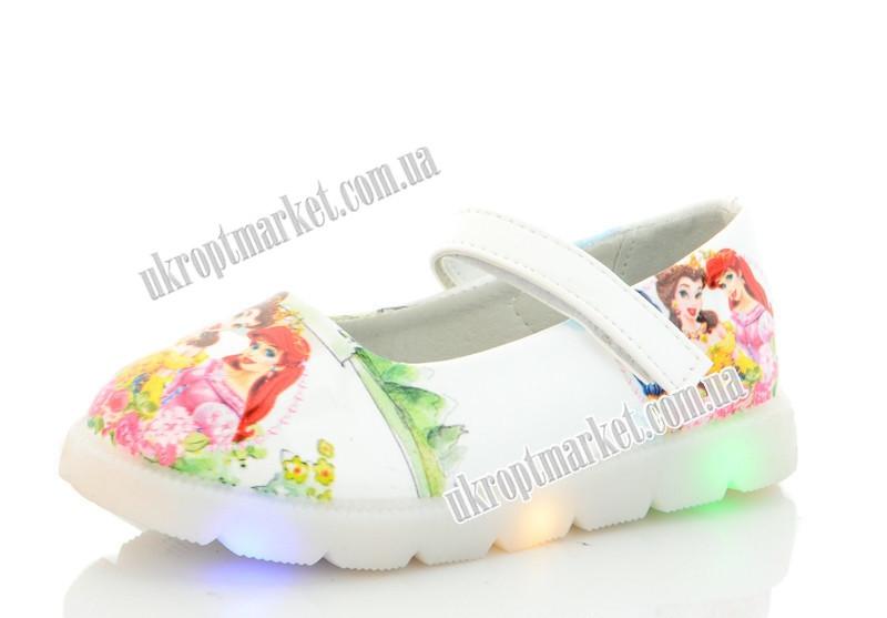 """Туфли детские 853-1 LED (8 пар р.21-26) """"Nexter"""" LMP-2130"""