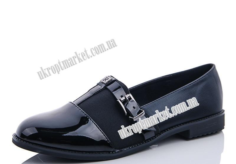 "Туфли женские 65 black (8 пар р.37-41) ""Maiguan"" LZ-1463"