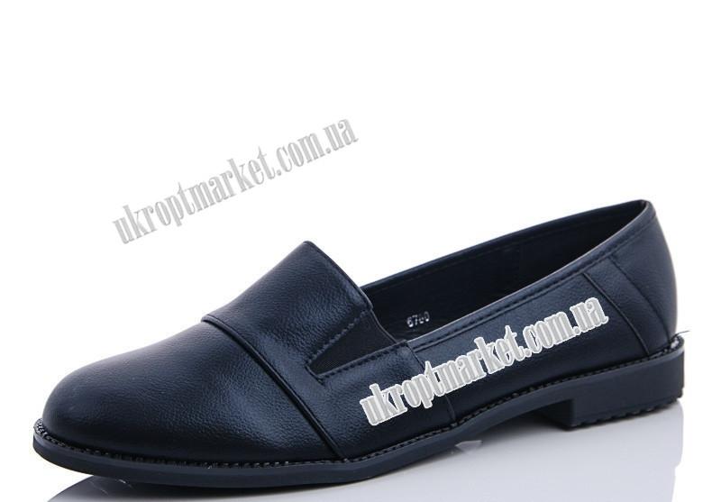 "Туфли женские 6780 black (8 пар р.36-41) ""Maiguan"" LZ-1463"