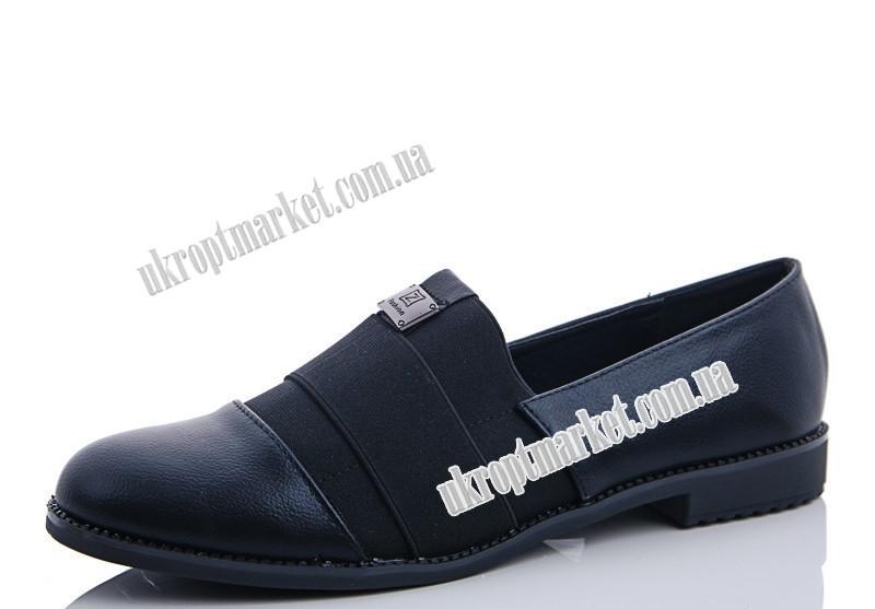 "Туфли женские 69 black (8 пар р.37-41) ""Maiguan"" LZ-1463"