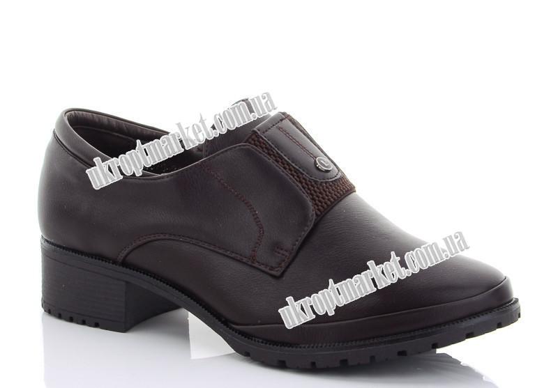 """Туфли женские B079-216Z (8 пар р.36-41) """"Ducheng"""" LG-1627"""