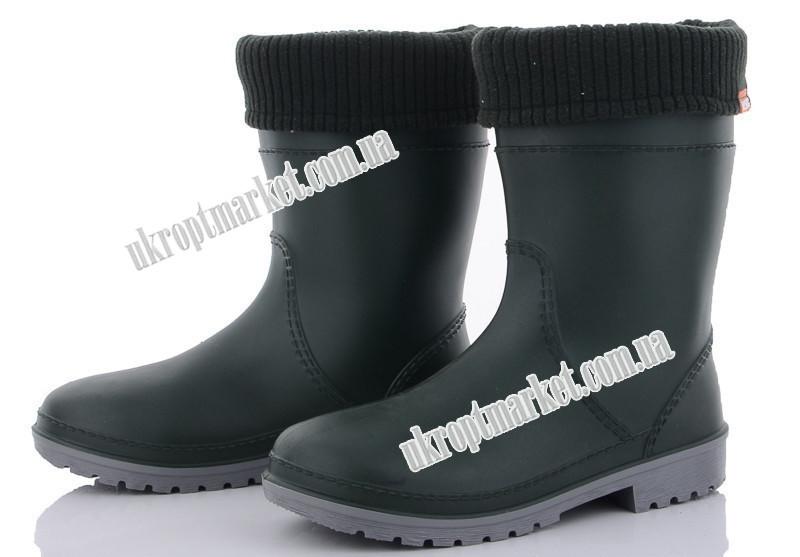 """Обувь для непогоды детская Win зеленый (24-29) (6 пар р.24-29) """"Selena"""" LB-1101"""