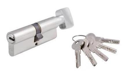 Цилиндровый механизм Гардиан Guardian Standart GS C15 ключ/тумблер (РФ)