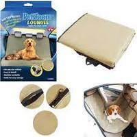 Защитный коврик в машину для собак PetZoom, коврик для животных в автомобиль, чехол для перевозки,