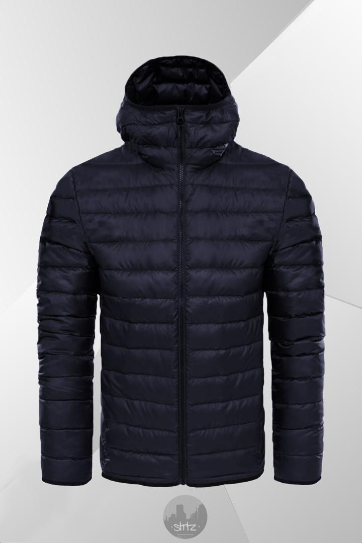 Мужская зимняя куртка Winter Hooded Down Jacket +7°C (-25°С) темно-синий