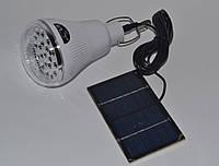 Светодиодная лампа фонарь Golben Road GR-020 с солнечной панелью