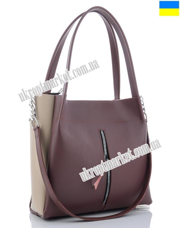"""Сумка женская 4-3 violet (35х30 фиолетовый) """"Serena"""" LG-1583"""