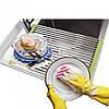 Складная сушилка решетка на раковину полка для сушки посуды и овощей, фото 3