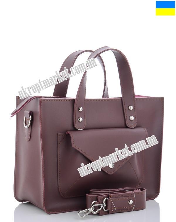 """Сумка женская 7-6 violet (30х23 фиолетовый) """"Serena"""" LG-1583"""