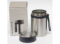 Пищевой термос 850мл T144-9 ,ланчбокс для еды,компактный пищевой термос! Скидка