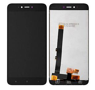 Модуль для Xiaomi Redmi Note 5A, черный, дисплей + сенсор