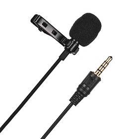 Микрофон петличный JH-043 Lavalier MicroPhone 3.5mm jack с зажимом