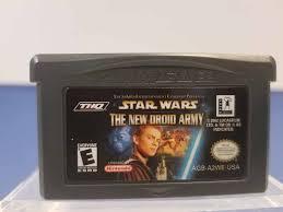 Ігровий картридж для GAME BOY ADVANCE Star Wars - New Droid Army