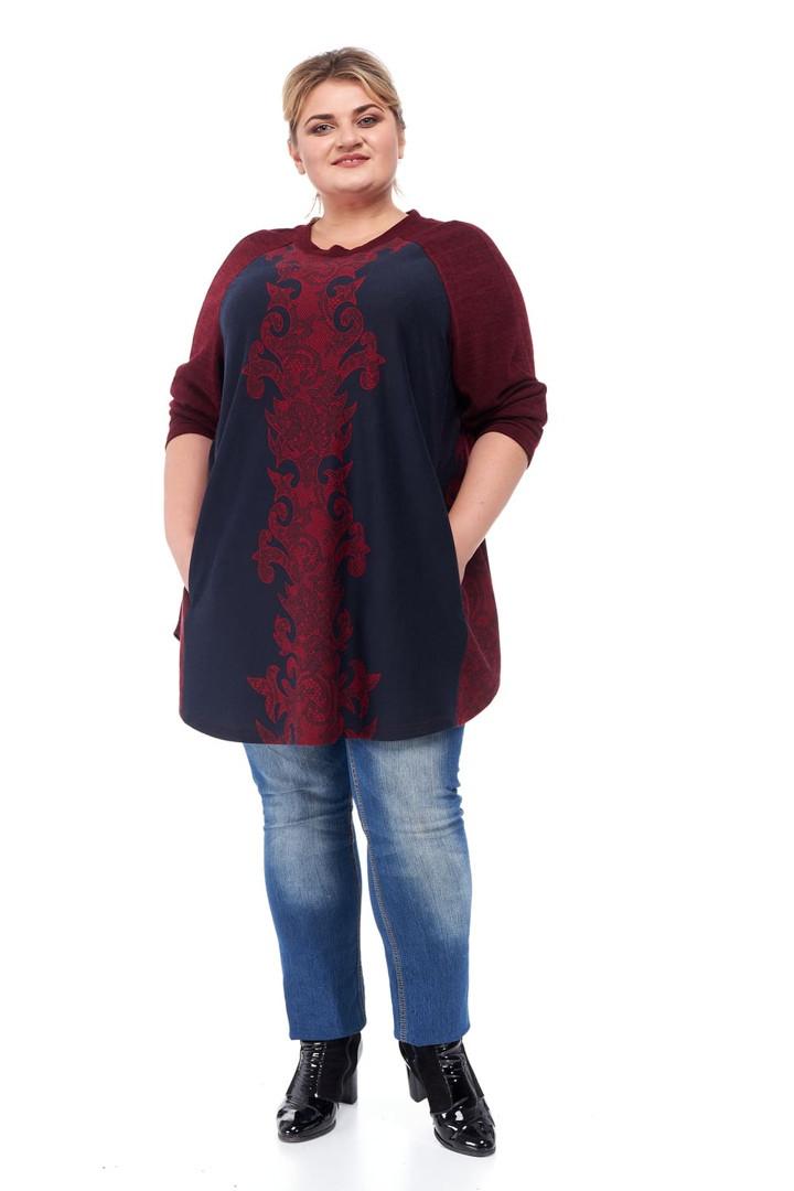 Туника женская большие размеры от 66 до 76