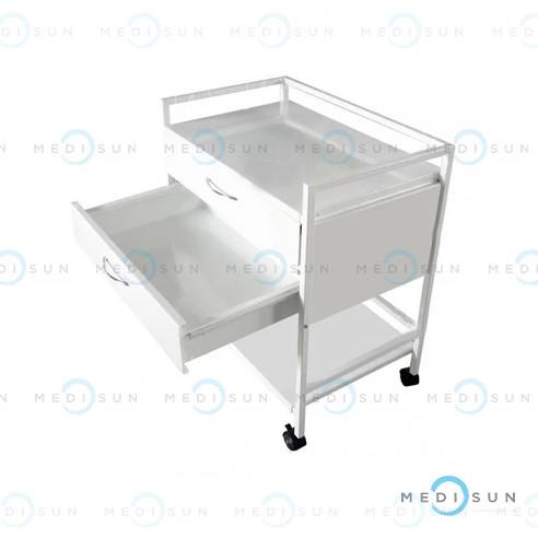 Столик анестезиолога СТ-А, столик медицинский на колесах MEDNOVA
